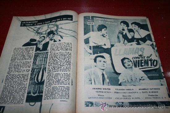 Cine: RADIOCINEMA Nº 369 - 17 AGOSTO 1957 - PORTADA MARTHA HYER - CONTRAPORTADA BARBARA VARENNA - Foto 6 - 38402516