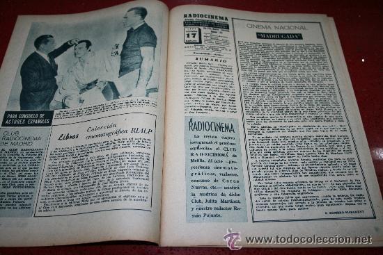 Cine: RADIOCINEMA Nº 369 - 17 AGOSTO 1957 - PORTADA MARTHA HYER - CONTRAPORTADA BARBARA VARENNA - Foto 7 - 38402516
