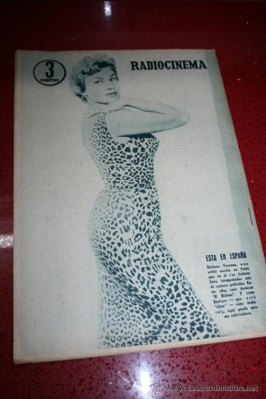Cine: RADIOCINEMA Nº 369 - 17 AGOSTO 1957 - PORTADA MARTHA HYER - CONTRAPORTADA BARBARA VARENNA - Foto 8 - 38402516