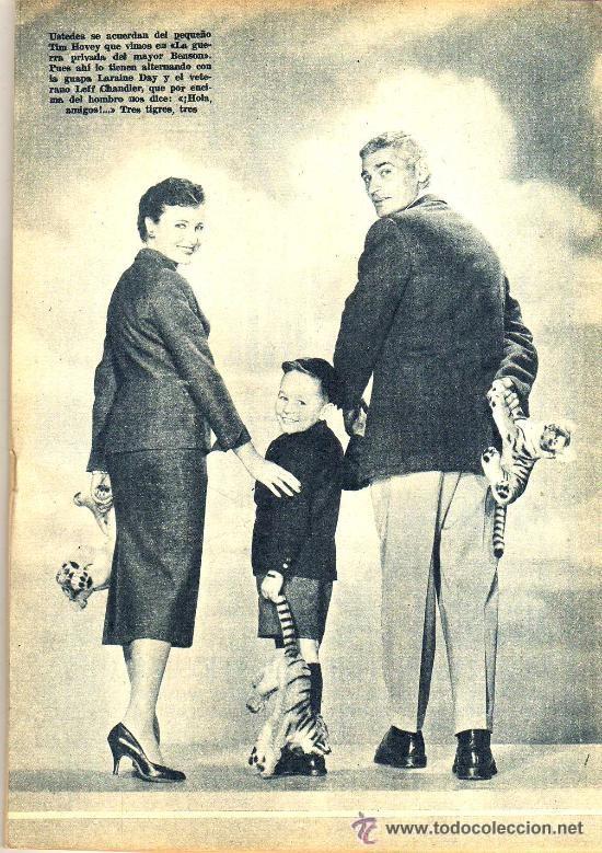 Cine: RADIOCINEMA Nº 330 - 17 NOVIEMBRE 1956 - PORTADA MIGUELITO GIL - CONTRAPORTADA COLLEEN MILLER - Foto 4 - 38402485