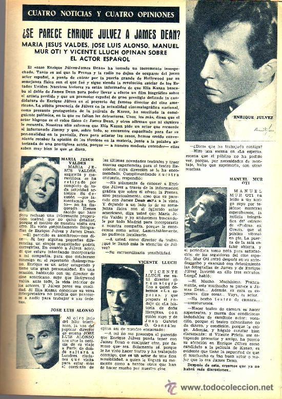 Cine: RADIOCINEMA Nº 330 - 17 NOVIEMBRE 1956 - PORTADA MIGUELITO GIL - CONTRAPORTADA COLLEEN MILLER - Foto 6 - 38402485