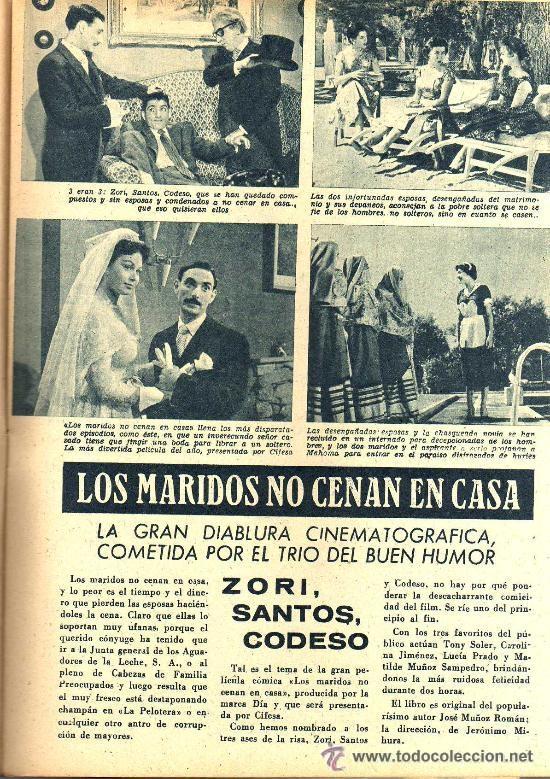Cine: RADIOCINEMA Nº 335 - 22 DICIEMBRE 1956 - PORTADA CARMEN SEVILLA - CONTRAPORTADA ANNA Mº ALBERGHETTI - Foto 4 - 38412154