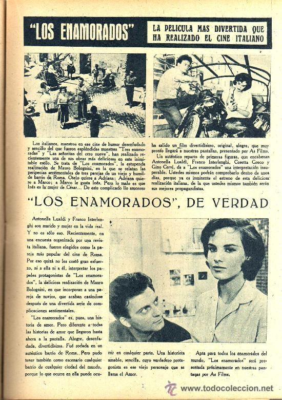Cine: RADIOCINEMA Nº 335 - 22 DICIEMBRE 1956 - PORTADA CARMEN SEVILLA - CONTRAPORTADA ANNA Mº ALBERGHETTI - Foto 5 - 38412154