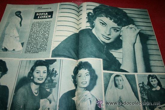 Cine: RADIOCINEMA Nº 343 - 16 FEBRERO 1957 - PORTADA MAUREEN O'HARA - CONTRAPORTADA PIER ANGELI - Foto 2 - 152847309
