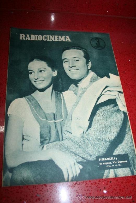 Cine: RADIOCINEMA Nº 343 - 16 FEBRERO 1957 - PORTADA MAUREEN OHARA - CONTRAPORTADA PIER ANGELI - Foto 7 - 152847309
