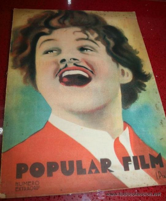 POPULAR FILM - NÚMERO EXTRAORDINARIO - OCTUBRE 1930 (Cine - Revistas - Popular film)