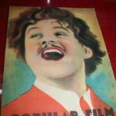 Cine: POPULAR FILM - NÚMERO EXTRAORDINARIO - OCTUBRE 1930. Lote 45304161