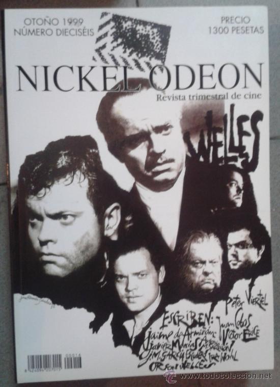 LOTE DE 17 EJEMPLARES DE LA REVISTA NICKEL ODEON (Cine - Revistas - Nickel Odeon)