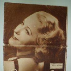 Cine: POPULAR FILM - GRACE MOORE (Nº 500 - 19 DE MARZO DE 1936). Lote 38513777