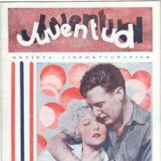 Cine: JUVENTUD REVISTA CINEMATOGRAFICA Nº 11-MARZO 1930 - MARCELA ALBANI, ANNY ONDRA, JEAN ARTHUR,EVA GRAY. Lote 38774532
