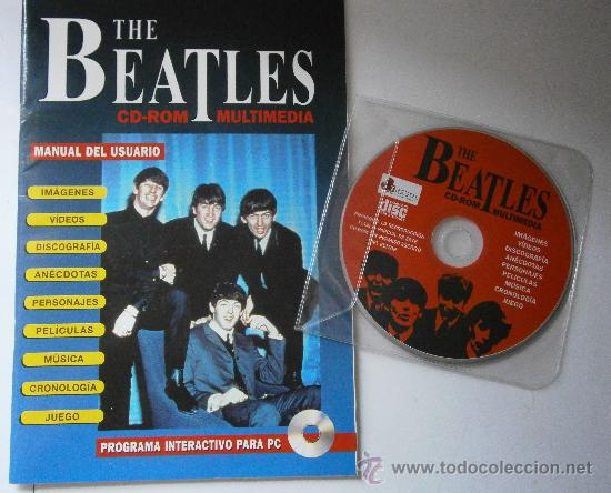 THE BEATLES CD ROM MULTIMEDIA JOAQUIN LUQUI TREBOL 1995 (Cine - Revistas - Colección ídolos del cine)