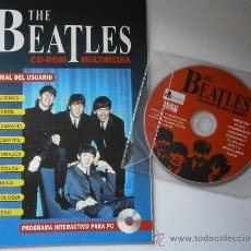 Cine: THE BEATLES CD ROM MULTIMEDIA JOAQUIN LUQUI TREBOL 1995. Lote 38658752