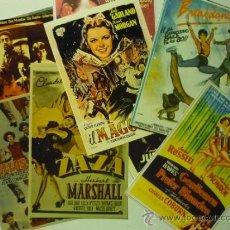 Cine: LOTE CINE MUSICAL CARTELES EN FOTO,PAPEL ETC.DE CARTELES EXTRANJEROS Y ESPAÑOLES . Lote 38709061
