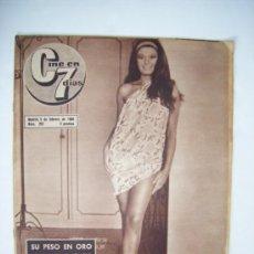 Cine: SARA MONTIEL - CINE EN 7 DÍAS - RICA DIALINA - 1966. Lote 38731184