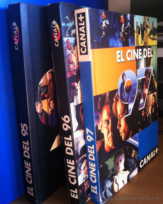 EL CINE DEL 95 - 96 - 97 DE CANAL + (Cine - Reproducciones de carteles, folletos...)