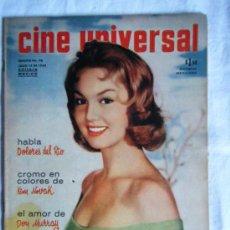 Cine: CINE UNIVERSAL 1958 - ELVIS - KIRK DOUGLAS - CHARLTON HESTON - DOLORES DEL RIO - SILVANA -. Lote 38975785