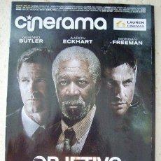Cine: REVISTA CINERAMA * LAUREN CINEMAS * MAYO 2013 - PORTADA: OBJETIVO: LA CASA BLANCA. Lote 43448193