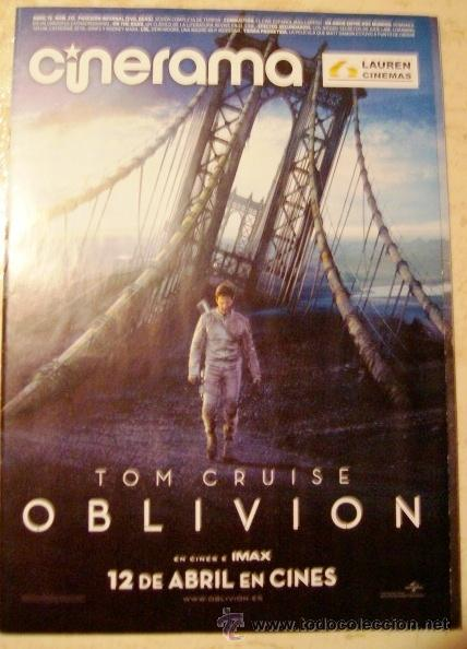 REVISTA CINERAMA * LAUREN CINEMAS * ABRIL 2013 - PORTADA: OBLIVION (TOM CRUISE) (Cine - Revistas - Cinerama)
