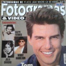 Cine: FOTOGRAMAS Nº 1842 -- TOM CRUISE : TRIUNFADOR -- ABRIL 1997. Lote 39121968