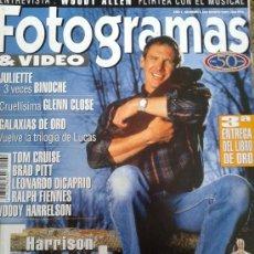 Cine: FOTOGRAMAS Nº 1841 -- HARRISON FORD 20 AÑOS DE HEROE -- MARZO 1997. Lote 39121994