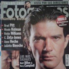 Cine: FOTOGRAMAS Nº 1998 -- ANTONIO BANDERAS,EL ZORRO HA LLEGADO -- DICIEMBRE 1998. Lote 39134095