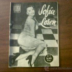 Cine: COLECCIÓN IDOLOS DEL CINE SOFIA LOREN Nº 3-1958. Lote 39138977