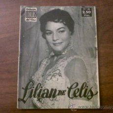 Cine: COLECCIÓN IDOLOS DEL CINE LILIAN DE CELIS Nº38-1958. Lote 39139014