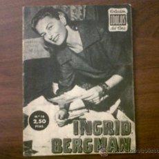 Cine: COLECCIÓN IDOLOS DEL CINE INGRID BERGMAN Nº 16-1958. Lote 39139166
