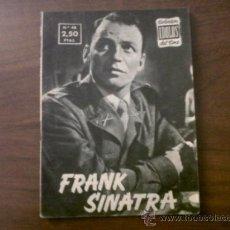 Cine: COLECCIÓN IDOLOS DEL CINE FRANK SINATRA Nº 48-1958. Lote 39139233