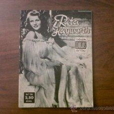 Cine: COLECCIÓN IDOLOS DEL CINE RITA HAYWORTH Nº 26-1958. Lote 39139420