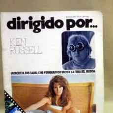 Cine: REVISTA DE CINE, DIRIGIDO POR, KEN RUSSELL, ENTREVISTA A SAURA, DREYER, MARZO 1976, Nº 31. Lote 39187396