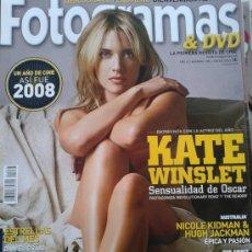 Cinema: FOTOGRAMAS Nº 1983 -- KATE WINSLET,SENSUALIDAD DE OSCAR -- ENERO 2009. Lote 39241005