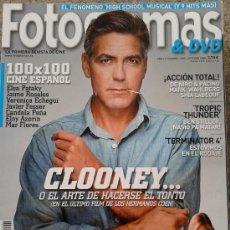 Cinéma: FOTOGRAMAS Nº 1980 -- CLOONEY O EL ARTE DE HACERSE EL TONTO -- OCTUBRE 2008. Lote 39241657