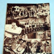 Cine: POPULAR FILM Nº 410 JUNIO 1934 REVISTA CINE ARTÍCULOS CINE HOLLYWOOD Y ESPAÑA PUBLICIDAD ÉPOCA. Lote 39294384