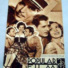 Cine: POPULAR FILM Nº 448 MARZO 1935 REVISTA CINE ARTÍCULOS CINE HOLLYWOOD Y ESPAÑA PUBLICIDAD ÉPOCA. Lote 39296228