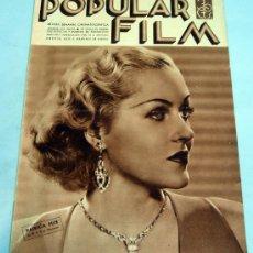 Cine: POPULAR FILM REVISTA SEMANAL CINEMATOGRÁFICA Nº 470 AGOSTO 1935 PATRICIA ELLIS PORTADA. Lote 39366899