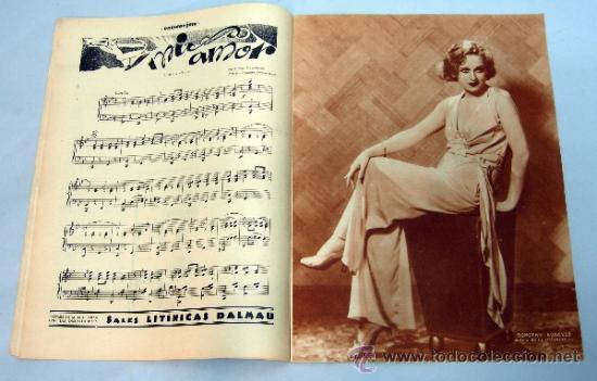 Cine: Popular Film nº 272 Octubre 1931 revista cine artículos cine Hollywood y España publicidad época - Foto 2 - 39296260