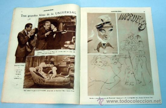 Cine: Popular Film nº 272 Octubre 1931 revista cine artículos cine Hollywood y España publicidad época - Foto 4 - 39296260