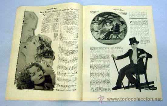 Cine: Popular Film nº 272 Octubre 1931 revista cine artículos cine Hollywood y España publicidad época - Foto 5 - 39296260