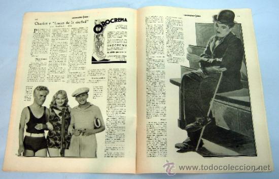 Cine: Popular Film nº 272 Octubre 1931 revista cine artículos cine Hollywood y España publicidad época - Foto 6 - 39296260