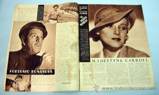 Cine: Popular Film revista semanal cinematográfica nº 512 Junio 1936 Eleanor Whitney portada - Foto 3 - 39367395