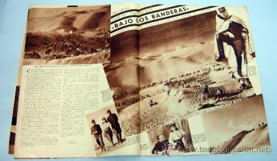 Cine: Popular Film revista semanal cinematográfica nº 512 Junio 1936 Eleanor Whitney portada - Foto 4 - 39367395
