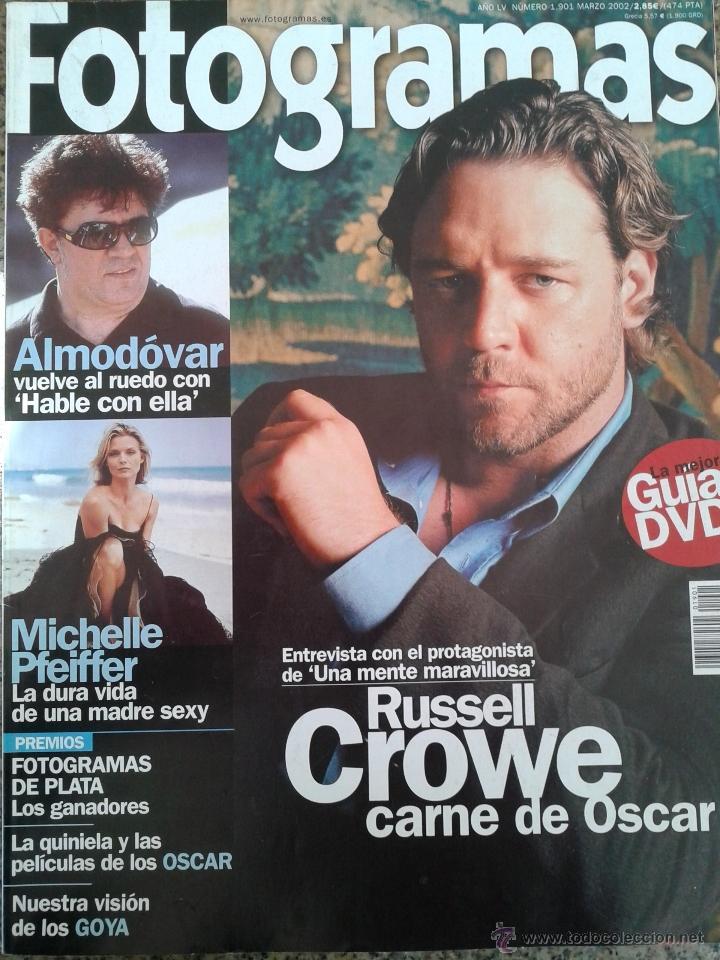 fotogramas nº 1901 -- russell crowe-michelle pf - Comprar Revistas ...