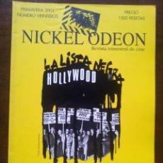 Cine: NICKEL ODEON. Nº 22. MCCARTHY Y LA INQUISICIÓN EN EL CINE. REVISTA TRIMESTRAL DE CINE. PRIM 2001.. Lote 39357967