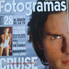 Cine: FOTOGRAMAS Nº 1881 -- CRUISE,TODO SOBRE MISION IMPOSIBLE I I -- JULIO 2000. Lote 39363504