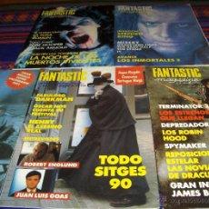 Cine: FANTASTIC MAGAZINE PRIMERA ÉPOCA NºS 4, 5, 8, 9 Y 10. 1990. 375 PTS. .. Lote 41500755