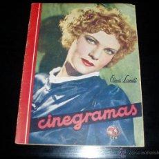 Cine: CINEGRAMAS Nº 14. 16 DICIEMBRE 1934. REVISTA CINE. ELISSA SANDI.. Lote 39449909