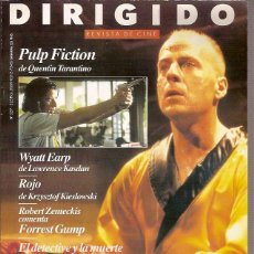 Cine: REVISTA DE CINE DIRIGIDO Nº 227 PULP FICTION DE QUENTIN TARANTINO SEPTIEMBRE 1994. Lote 39496872