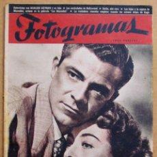Cine: REVISTA DE CINE FOTOGRAMAS Nº 39 - 15 JUNIO 1948 JOAN CRAWFORD DANA ANDREWS JORGE NEGRETE. Lote 39559800