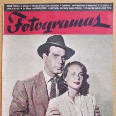 Cine: REVISTA DE CINE FOTOGRAMAS Nº 37 - 15 MAYO 1948 FRED MAC MURRAY ALIDA VALLI JANIS PAIGE. Lote 39559875